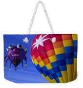 Purple People Eater Rides The Wind Weekender Tote Bag