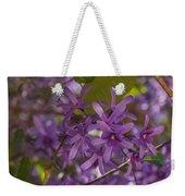 Purple Perfection Weekender Tote Bag