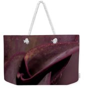 Purple Plant Macro Weekender Tote Bag