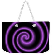 Purple Post Weekender Tote Bag