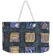 Purple Prism Glass In A Square Weekender Tote Bag