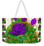 Purple Roses From The Garden 2 Weekender Tote Bag