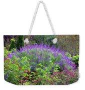 Purple Salvia In The Garden Weekender Tote Bag