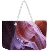 Purple Sandstone Weekender Tote Bag
