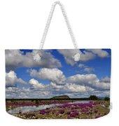 Purple Spring Weekender Tote Bag