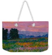 Purple Sunset On The Blue Ridge Weekender Tote Bag