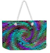Purple Swirl Ripples Weekender Tote Bag