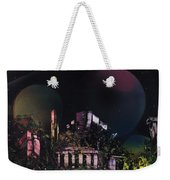 Purple Temple Weekender Tote Bag