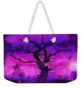 Purple Tree Of Life Weekender Tote Bag