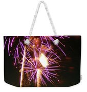 Purple Trees Weekender Tote Bag by Optical Playground By MP Ray