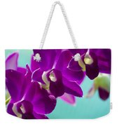 Purple Trio - Orchids Weekender Tote Bag