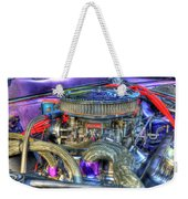 Purple Under The Hood Weekender Tote Bag
