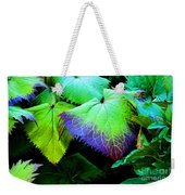 Purple Veins Weekender Tote Bag