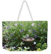 Purple Wild Flowers 1 Weekender Tote Bag