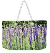 Purple Wild Flowers 2 Weekender Tote Bag