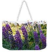 Purple Wildlfowers Weekender Tote Bag