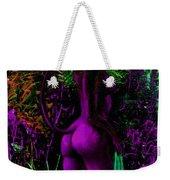 Purple Wood Nymph Weekender Tote Bag