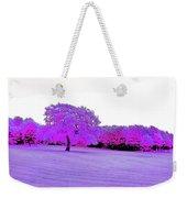 Purple World Weekender Tote Bag