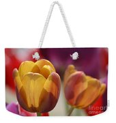 Purpleyellowtulips7016 Weekender Tote Bag