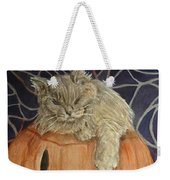 Purrfect Halloween Weekender Tote Bag