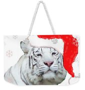 Purrfect Holiday Weekender Tote Bag