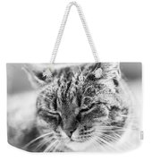 Purring Cat Weekender Tote Bag