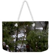 Pussy Willow In The Pines Weekender Tote Bag