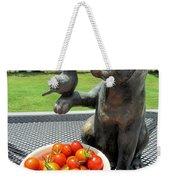 Pussycat And Tomatoes Weekender Tote Bag