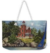 Put-in-bay Lighthouse Weekender Tote Bag