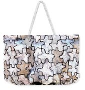 Puzzled Man No2 Weekender Tote Bag