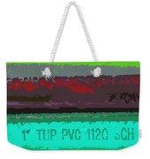 PVC Weekender Tote Bag