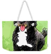 Pw Dog Weekender Tote Bag