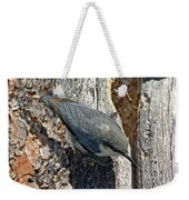 Pygmy Nuthatch At Nest Weekender Tote Bag