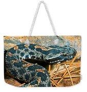Pygmy Rattlesnake Weekender Tote Bag