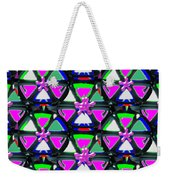 Pyramid Dome Triangle Purple Elegant Digital Graphic Signature   Art  Navinjoshi  Artist Created Ima Weekender Tote Bag
