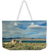 Pyramid Lake Weekender Tote Bag