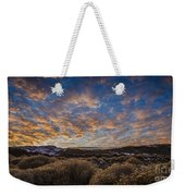 Pyramid Lake Sunset Weekender Tote Bag