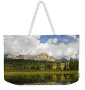 Pyramid Mountain And Cottonwood Slough Weekender Tote Bag