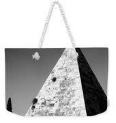 Pyramid Of Cestius Weekender Tote Bag by Fabrizio Troiani