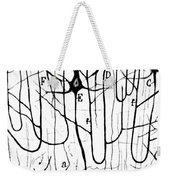 Pyramidal Cells Illustrated By Cajal Weekender Tote Bag
