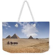 Pyramids Of Giza Weekender Tote Bag