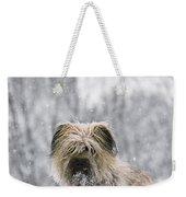 Pyrenean Shepherd Dog Weekender Tote Bag