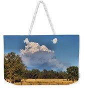 Pyrocumulus Cloud 08 18 12 Weekender Tote Bag