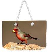 Pyrrhuloxia Cardinalis Sinuatus Male Weekender Tote Bag