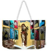 The New Learning Temple With Pythia Weekender Tote Bag
