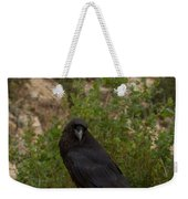 Qouth The Raven Nevermore Weekender Tote Bag
