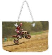 Quad Racer Jumping Weekender Tote Bag