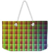 Quadrants Of Color Weekender Tote Bag