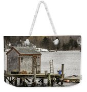 Quaint Fishing Shack New Hampshire Weekender Tote Bag