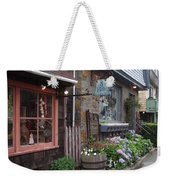 Quaint Rockport Weekender Tote Bag